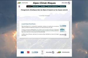 Portail_Alpes-Climat-Risques_2015